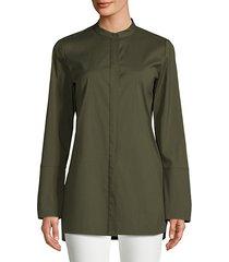 desra high-low blouse