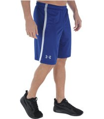 bermuda under armour tech mesh - masculina - azul/cinza
