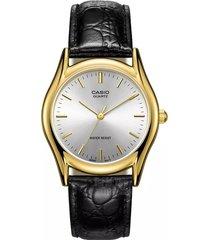reloj casio ltp-1094q-7a analogo 100% original-dorado