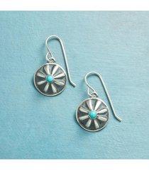 navajo concho earrings