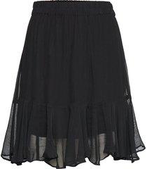 tul mw skirt kort kjol svart second female
