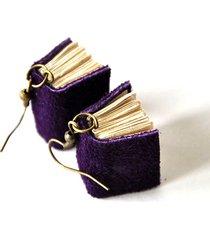 kolczyki mini książki