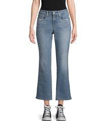 marilyn wide-leg ankle jeans