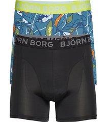 shorts bb ny greenery 2p boxerkalsonger blå björn borg