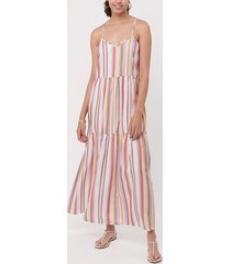 loft loft beach striped tie front maxi dress