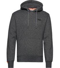 orange label classic hood br hoodie trui grijs superdry