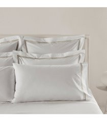 frette at home piave king pillow case bedding