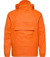 functional anorak in recycled polye outerwear jackets anoraks oranje knowledge cotton apparel