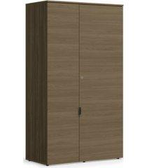 armário alto de escritório kappesberg f210 2 portas munique carvalho