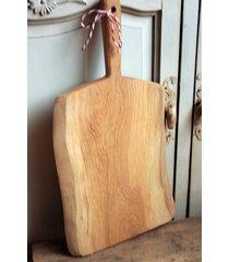 duża deska rustykalna z dębowego drewna