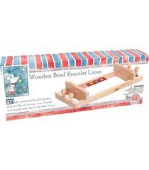 house of marbles wooden bead bracelet loom