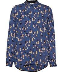 blouse blouse lange mouwen blauw noa noa