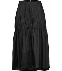 anzio rok knielengte zwart totême