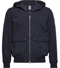hybrid jkt dun jack blauw hackett london