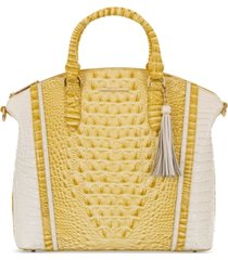 brahmin lemonade honeybee large duxbury satchel