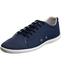 sapatênis sapato casual mavi basico azul marinho