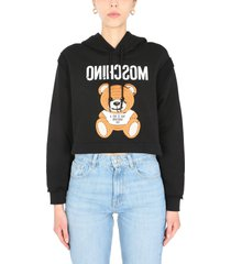 moschino inside out sweatshirt