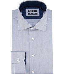 recall shaped fit overhemd met lange mouwen wit
