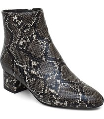 vicky snake shoes boots ankle boots ankle boot - heel vit shoe the bear
