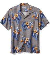 tommy bahama men's nassau blooms floral jacquard silk shirt