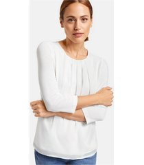 taifun t-shirt/blouse 471060 / 19676 offwhite - size 34 / xs