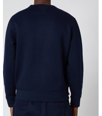 polo ralph lauren men's polo sweatshirt - cruise navy - m