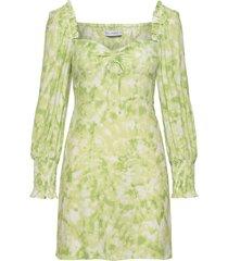 arianne mini dress korte jurk geel faithfull the brand