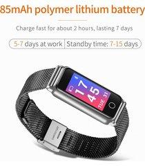 reloj inteligente y8 androide ios 0.96 inches ips toque pantalla-negro