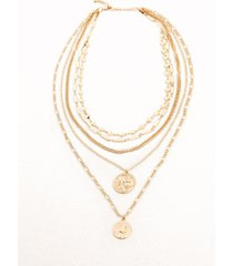 collana a più fili (oro) - bpc bonprix collection