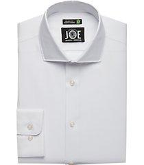 joe joseph abboud repreve® white slim fit dress shirt