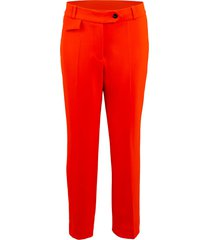 flame red cigarette trouser