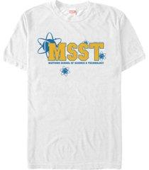 marvel men's spider-man homecoming midtown school of science costume short sleeve t-shirt