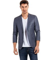blazer aprez azul new man