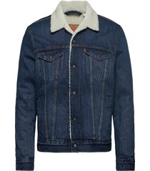 type 3 sherpa trucker palmer s jeansjack denimjack blauw levi´s men