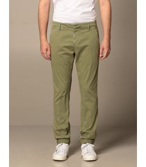 dondup pants gaubert chino cotton gabardine bottom 17