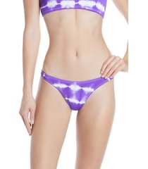 women's bound by bond-eye the scene bikini bottoms, size one size - purple (nordstrom exclusive)