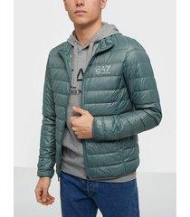 ea7 emporio armani train core id m down light jacket jackor forrest