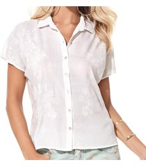 camisa sideral off white