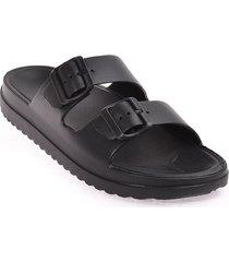 priceshoes sandalia plana dama 922sb403negro