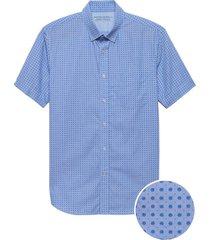 camisa lp print shirt azul banana republic