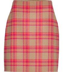 marmo kort kjol multi/mönstrad weekend max mara