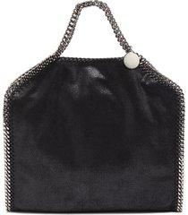 'falabella' three chain leather tote