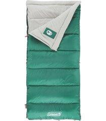 saco para dormir sleeping coleman 4.4 grados - verde