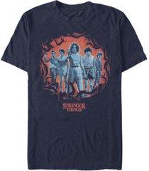 fifth sun men's stranger things group pose short sleeve t-shirt