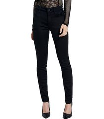 jeans sateen sexy curve negro guess