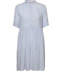 srallysia dress dresses shirt dresses blå soft rebels