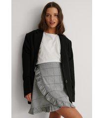 na-kd classic kjol - multicolor