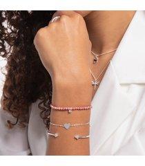 thomas sabo women's bracelet - silver-coloured
