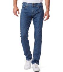 men's paige lennox slim fit jeans, size 34 - blue
