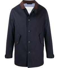 mackintosh bloomsbury short coatspre - blue